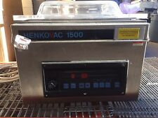 Henkovac 1500 Vacuum Packaging Machine H 1500 H