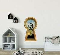3D Keyhole Wall Decal Land of OZ Castle Wizard of OZ Fantasy Wall Art Sticker