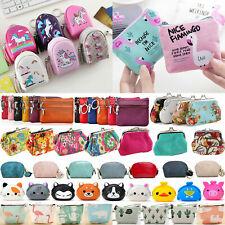 Women Mini Wallet Change Coin Purse Hasp Small Clutch Card Money Holder Handbag