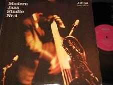 Modern JAZZ studio Nº 4 Leo Wright-Combo Live a Dresda/DDR lp'70 Amiga 855215