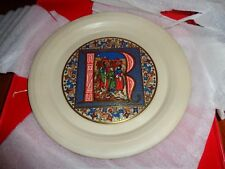 Hornsea Limited Edition Christmas Plate 1981 BOXED #2