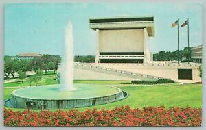 Austin Texas~Lyndon B Johnson Library Texas University Campus~Vintage PC