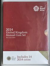 More details for 2014 royal mint annual brilliant uncirculated 14 coin set sealed