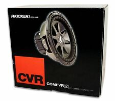 "KICKER CVR12-4 Comp VR Series 12"" Car Audio Subwoofer 4 Ohm 713034027683 CVR124"