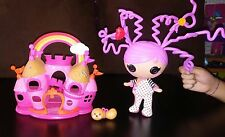 Lalaloopsy Littles Silly Hair doll Squirt with pet & Playhouse