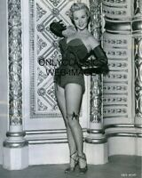 1952 Starlet Virginia Mayo SHE'S BACK ON BROADWAY Sexy Pinup Cheesecake Photo
