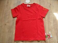 SIGIKID schönes T-Shirt rot Schmetterling Organic Gr. 116 NEU ST817