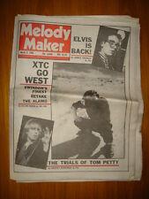 MELODY MAKER 1980 MAR 8 XTC ELVIS COSTELLO TOM PETTY