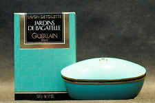 JARDINS DE BAGATELLE GUERLAIN PERFUMED SOAP 100g./ NET WT. 3.5 OZ WITH CASE RARE