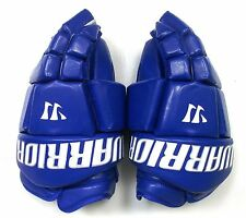 "New Warrior Fatboy box lacrosse goalie gloves 14"" royal Lax indoor senior goal"