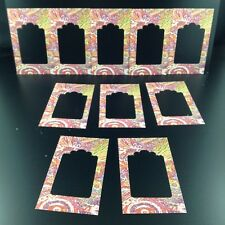 Frames Rainbow Cardboard Cutouts 10 Scrapbooking, Card Making, Journals, Crafts