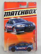 Matchbox Mitsubishi Lancer Evolution X (Politia) #57 Emergency Response