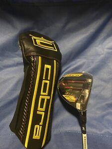 Cobra Speedzone 3 Wood - HZRDUS Smoke Yellow Stiff - NEW