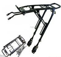 "Bicycle  cycle alloy rear rack carrier bracket bike luggage universal 20-29"""