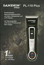 Top Haarschneidemaschine Friseur Profi Gerät SANSHIN PL-110 PLUS TURBO