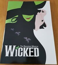 Wicked Theatre Programme The Civic New Zealand