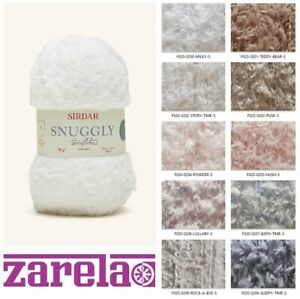 Sirdar Snuggly Snowflake Chunky - 50g ***ALL COLOURS***