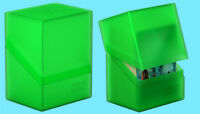 ULTIMATE GUARD BOULDER EMERALD Standard Size DECK CASE 100+ NEW Card Storage Box