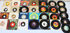 Lot 25+ 45 RPM Records MIXED 80's Rock Other Condition Varies see Photos LOT2
