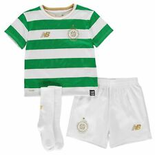 ORIGINAL 2017-18 CELTIC MINI KIT BOYS HOME  AGE 6 - 7 YEARS 50th Anniversary NWT