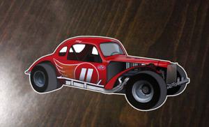 Ray Hendrick - #11 Modified - Custom Art sticker