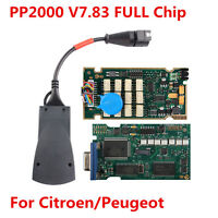 New PP2000 7.83 Full Chip For Citroen/Peugeot Diagnostic Tool OBDII OBD2 Scanner