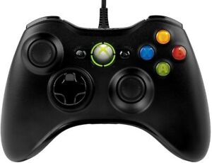 Microsoft OEM Wired Controller For Windows And Console For Xbox 360 Very Good 9Z