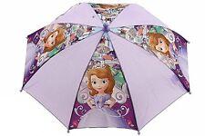 """Disney """"Kingdom Rains"""" A Princess Sofia the First Girls 21""""  Umbrella Handle"""
