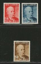 Norway 1951 Arne Garborg/Poet--Attractive Literature Topical (318-20) MH