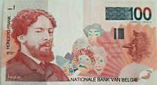 100 Francs Belgique 100 Frank Belgïe Pick 147b  * James Ensor *  Belgium