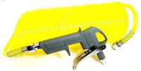 Air Dust Blow Gun 25ft Air Hose With Recoil Hose TZ AT037
