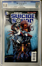 NEW SUICIDE SQUAD #6 CGC 9.8 HARLEY QUINN, BIRDS OF PREY MOVIE (2015) DC COMICS