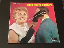 33 TOURS 25 cm -  ANNE MARIE CARRIERE - N'ECOUTEZ PAS MESSIEURS