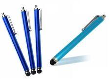 4 X Pantalla Táctil Lápiz Azul Stylus teléfono Ipad Samsung Galaxy Tablet Kindle 4 5 6