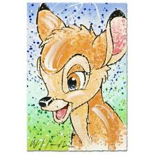 """Bambi the Buck Stops Here""  David Willardson  LTD Serigraph Disney  Bambi COA"