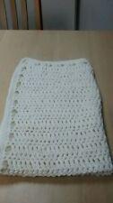 Cotton Blend Handmade Crochet Nursery Blankets & Throws
