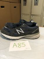 New Balance Made in US 990v4 M990NV4 Running Shoes, Men's Size 10 2E, Navy