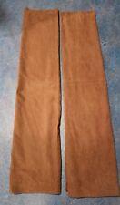 "Woolrich Brown Microfiber Curtain Panels Rod pockets each measures 53""x 60"" high"