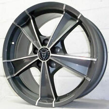 WolfRace Glossy Rims with 5 Studs