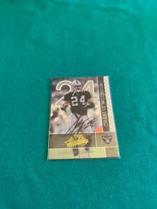 Charles Woodson Autographed Football Card - Oakland Raiders