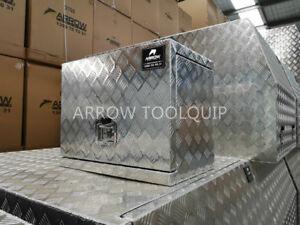 620 x 400 x 500 mm Aluminium Toolbox Generator Tool Box Caravan Ute Toolbox