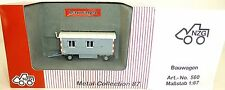 Construction wagon super Model gray NZG 560 Metal Collection 1:87 OVP HA1 µ √