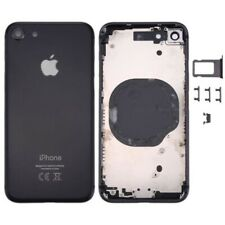 Bare chassis back case for iphone 8 black with rear glass and this logo.