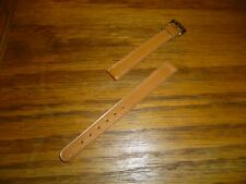 LADIES TAN LEATHER  WATCH STRAP   10mm LUGS ***