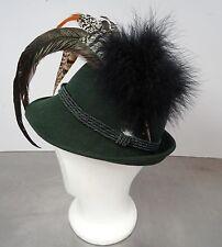Älterer Tiroler Hut Filzhut Tirolerhut Gr. 52 - vintage original tyrolean hat