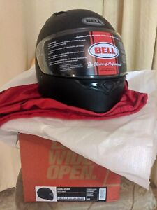 Bell Qualifier Motorcycle Helmet Matte Black Size XL 61-62cm DOT