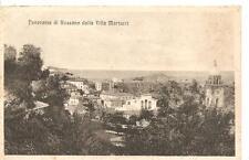 Panorama di Rossano dalla Villa Martucci