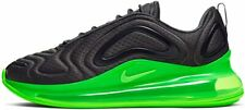 New Nike Air Max 720 Men's Black Green Volt Running Shoes AO2924-018 Athletic