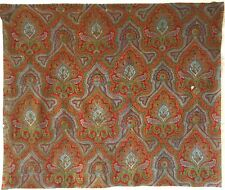 Beautiful 19th C. French Printed Cotton Provencal Paisley Fabric (2525 )
