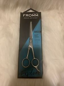 """NEW!! FROMM Shear Artistry Barber 6.5"""" Shear (scissors over comb cutting)"""